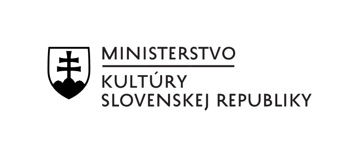 Logo Ministerstva kultúry SR